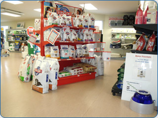 A vast selection of pet food and merchandise at Otautau Vets